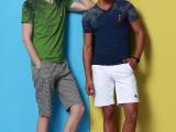 男士短袖t恤韩版潮男装V领打底衫半袖体恤上衣服2014夏装新款