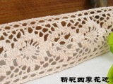 爆款3.5CM日本原单手作森林系女孩家居饰品收纳盒装饰必备棉蕾丝