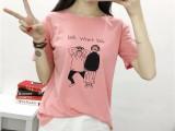 夏季新款韩版大码时尚女装 女式短袖t恤 批发