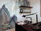 太原娱乐场所墙绘太原风水画办公室手绘墙画太原墙绘