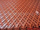 标准菱形钢板网 建筑菱形钢板网 银川菱形护栏网
