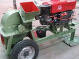 专业销售大型柴油机木材粉碎机/柴油机木材削片机