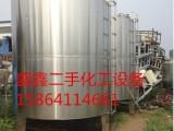 二手不锈钢储罐 反应釜 冷凝器离心机 压滤机干燥机