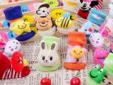 儿童袜子批发 玩具袜 全棉婴儿宝宝袜防滑立体造型公仔袜礼盒