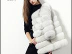 特价皮草冬装新款女装奢华芬兰进口狐狸毛皮草外套中长款皮草