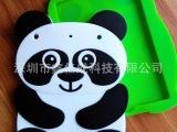 厂家直销熊猫硅胶保护套  平板电脑防滑防摔硅胶套 熊猫套
