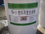 砼宝-II型环丙复合涂料 高性能防水涂料厂家直销