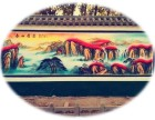 济南美丽乡村 济南3D墙绘 章丘文化墙 商河彩绘 浮雕壁画