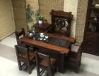老船木客厅小茶台原生态实木茶台龙骨茶台茶桌椅客厅茶桌椅