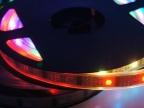 12V 3528RGB 彩色60珠跑马灯条灯带led软灯条