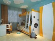拇指帮装修网-带来几款幻绮丽的儿童房设计风格