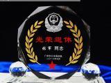 上海水晶盾牌奖杯批发 部队工艺品定制工厂 热门部队退役样式