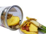 综合果蔬片100g 微信热卖 食品休闲零食微信代理 易拉罐装零食