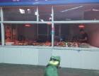 西关农贸市场熟食区中间摊位