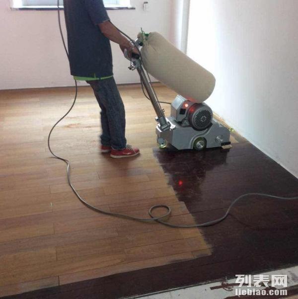 厦门木地板翻新 木地板打磨抛光、防腐木打磨