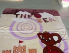 正品有光法兰绒毛毯面料一吨多,低价出售,14每公斤