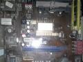 华硕m4n78主板1g内存俩硬盘仨电源亮机卡cpu