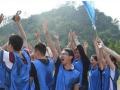 勇攀高峰·再创佳绩广西九州通拓展训练成功举办
