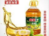 河南维维粮油纯香非转基菜籽油食用调和油5L大桶散装食用油批发