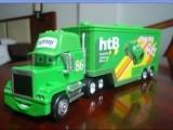 汽车总动员2 合金赛车总动员 绿色86号货柜 合金玩具模型