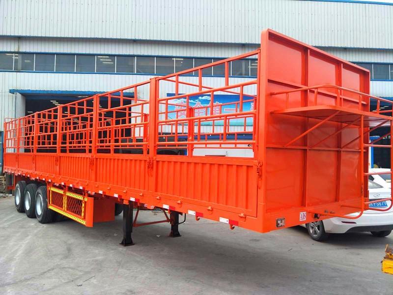 订做13米轻型高栏 自重5.5吨 梁山厂家直销