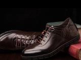 丹特鸟新品限量版增高男鞋车缝线中口成年橡胶鞋底黑色休闲鞋特价