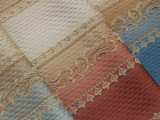 新欧式沙发布 高经密大提花家居面料窗帘布批发 高档车套布