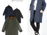 riche外贸原单正品女式外套 修身小风衣 女式冬季棉衣 保暖女