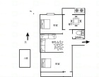 营东 营市西街单位宿舍2室2厅二楼 双气 有小房营市西街小区