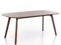 深圳众美德定制北欧实木餐桌现代简约餐厅长方形饭桌子