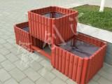 西安创汇户外花箱沙制品组合套装品字形