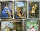 油画出售、订制各种高档油画、油画肖像、客厅油画、玄关油画