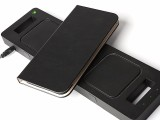 惠州手机保护套工厂iphoneX带插卡无线充手机壳OEM加工