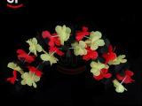 LED闪光花环发光手环圣诞装饰花狂欢节花环