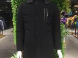 精品中高端时尚休闲冬装中长款男厚棉衣一手货源男装批发