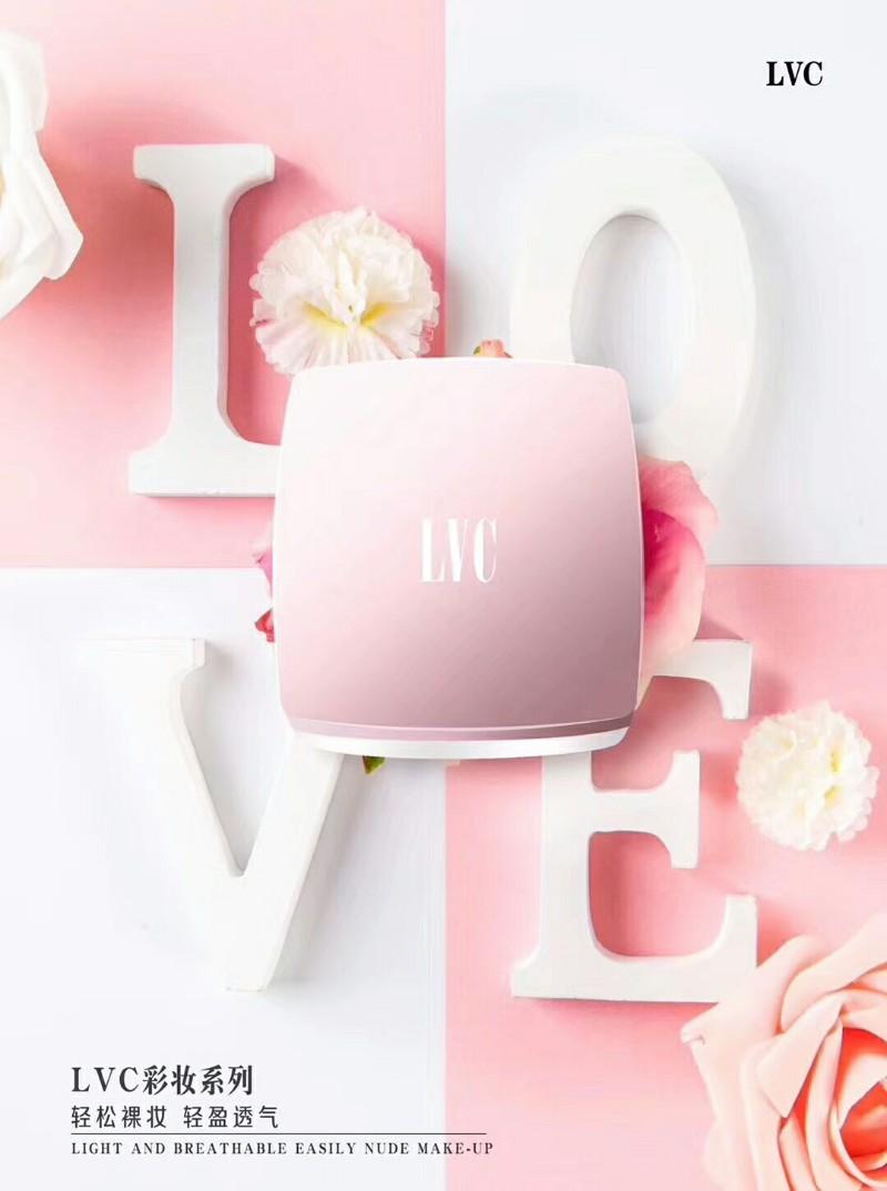 LVC美颜气垫cc霜微商真的吗?LVC都有什么产品