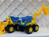 玩具挖土车 挖掘机 儿童小汽车 宝宝惯性车 工程车 推土机 装沙