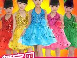 儿童演出服装纱裙女童演出服公主裙儿童主持人服装女童演出服装