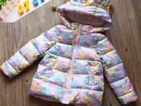 新款中大儿童棉衣加厚童棉服韩版毛领宝宝棉袄