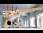 简阳钢管舞培训学校 演绎完美钢管舞 成都聚星钢管舞培训学校
