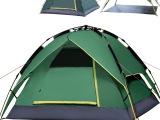 柯瑞普3-4人自动速开帐篷双层防晒防雨防风户外野营旅游三用帐篷