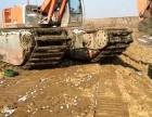 福建水路挖掘机出租水陆挖掘机出租江南机械租赁