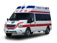 鹤壁私人救护车出租服务到位带医生