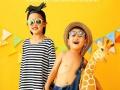 广州小布兜婴幼儿影像馆宝宝照,亲子照全家福写真照