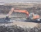 金华水陆挖掘机租赁水上挖机出租服务新款