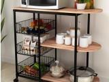 厨房置物架厂家直销可移动置物架图片
