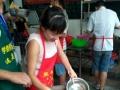 早点摊较火的早餐、早餐武汉三鲜豆皮培训