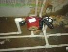 维修上下自来水管 安装增压泵