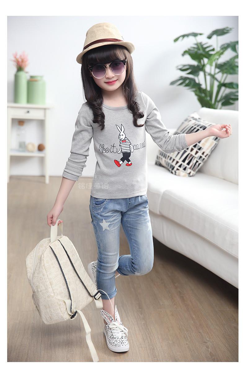 东营市儿童打底衫批发厂家直销最低价儿童套装牛仔裤批发保证质量