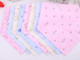 厂家直销 2015新款水晶绒儿童三角围巾 婴儿防水大号口水巾 8